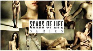 Daniele-Deriu-Scars-of-life-logo-postcardcult